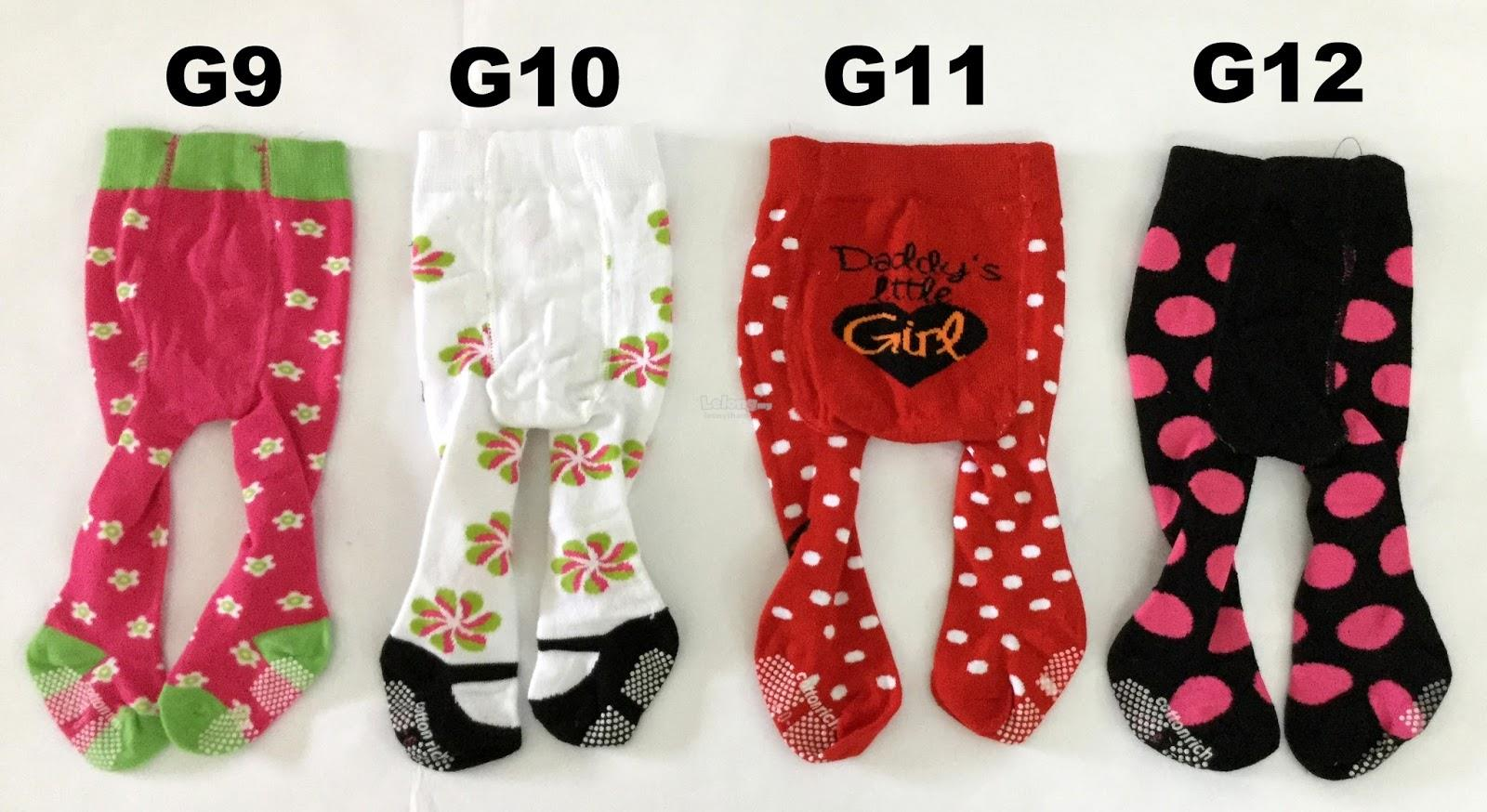6pcs Baby Tight Legging - RM48.00 Free Ship Poslaju ^_^