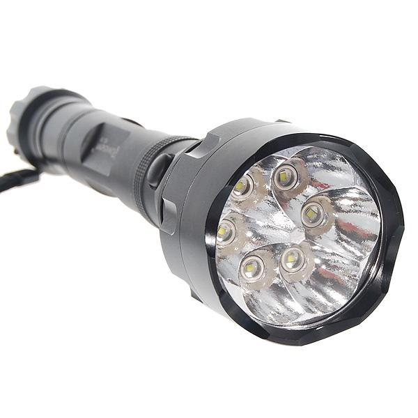 6x CREE LED Assault Tactical Flashlight With Holster