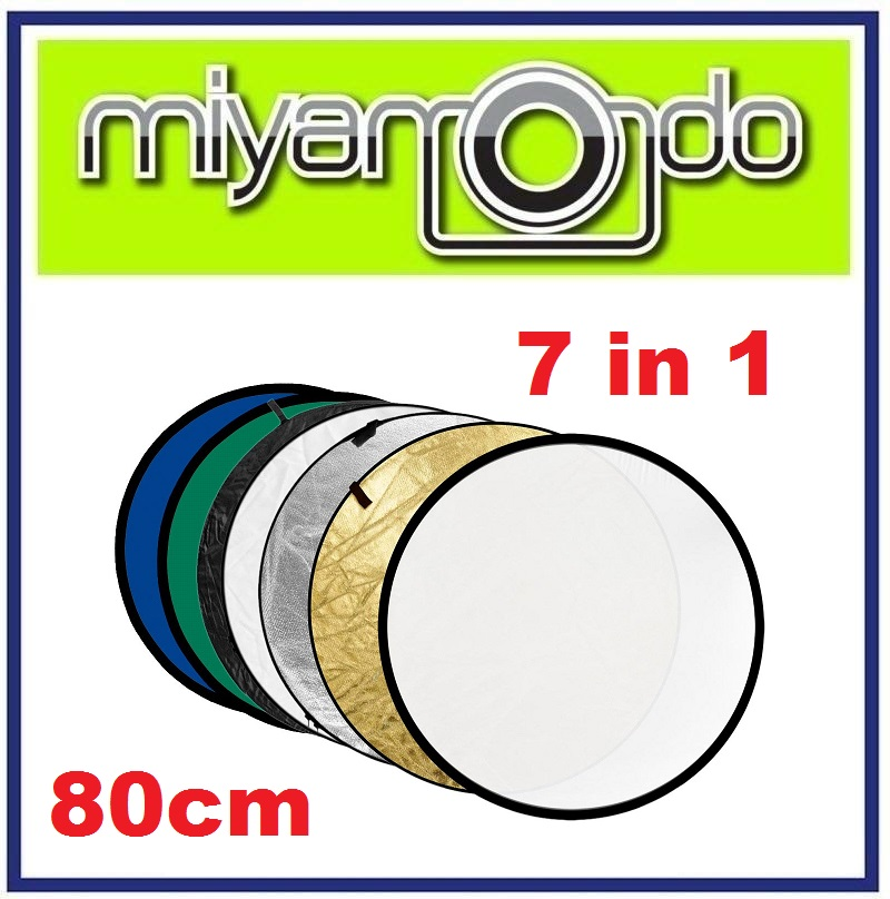 7 in 1 Reflector Kit Foldable Collapsble Studio Re