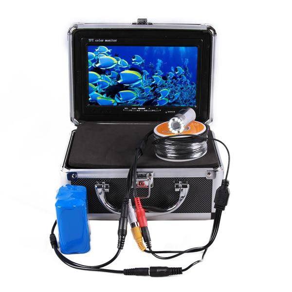 7' TFT LCD Color Monitor 800TVL Portable Fish Finder HD Underwater Fis