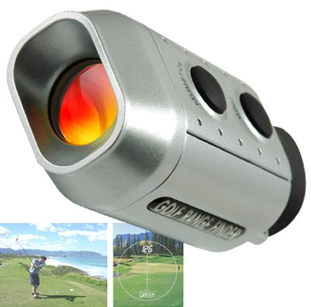 7 x Golf Range Finder Digital Golf Scope