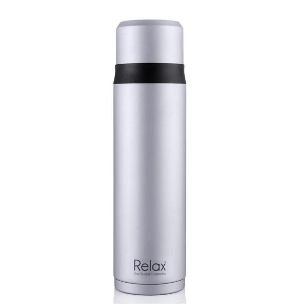 700ml Relax Stainless Steel Thermal Flask (Silver) - D2975
