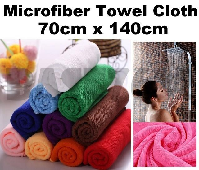 70x140cm  Microfiber Micro Fiber High Absorbent Cleaning Cloth Towel