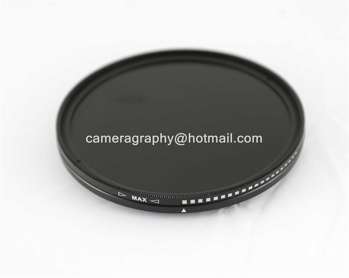 72mm ND Variable Filter ND2 to ND400