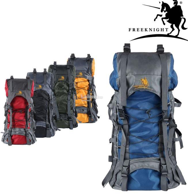 75L Free Knight Outdoor Backpack for Hiking & Camping Blue