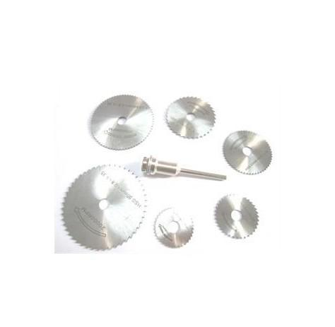 7Pcs Rotary cutter Mini HSS Circular Saw Disc Blades Blade cutter