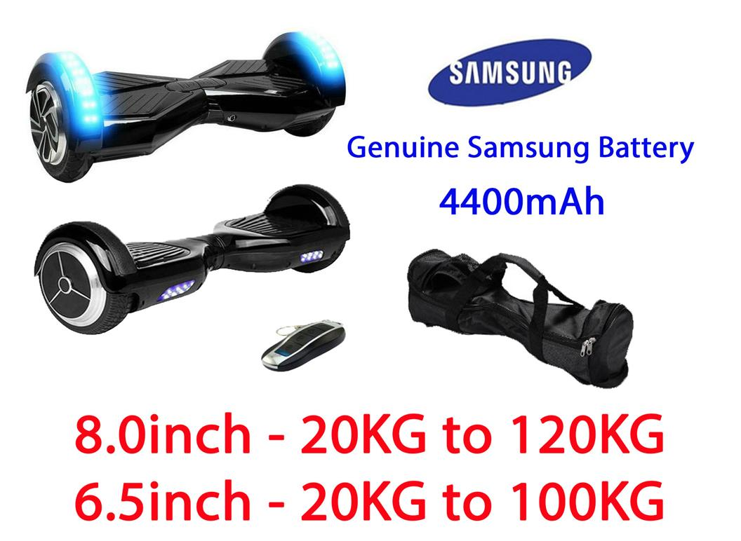8.0inch 6.5inch Smart Balancing Electric Scooter Two Wheel Samsung
