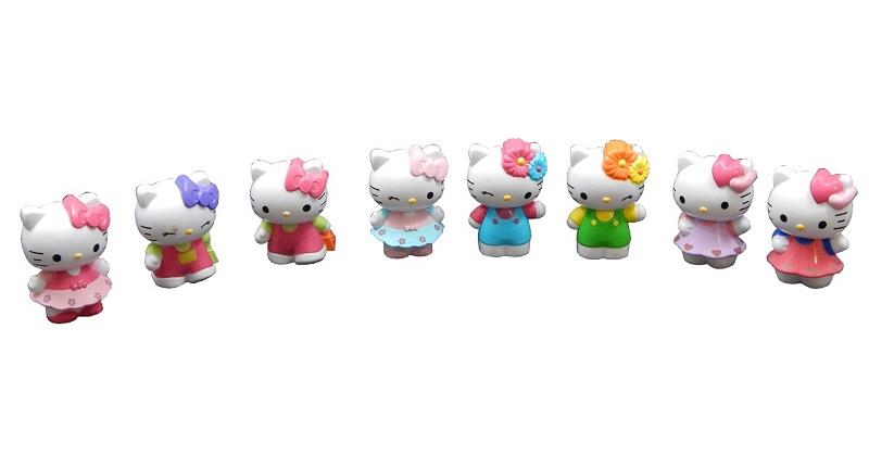8 Pcs Hello Kitty Collection (For Age 3 Years +)