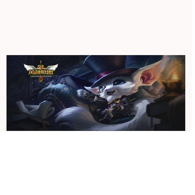 80*30cm Large Mice Mat Mouse Pad for Gaming Multicolor lol