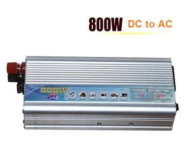 800W DC to AC Power Inverter for Solar System