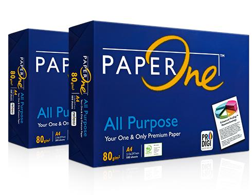 80gm Paper One A4 All Purpose Paper 500's