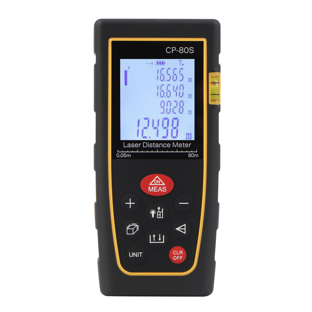 80M Handheld Digital Laser Distance Meter Range Finder Measure Diastim..
