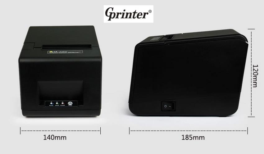 80MM Thermal Receipt Printer - USB / Network