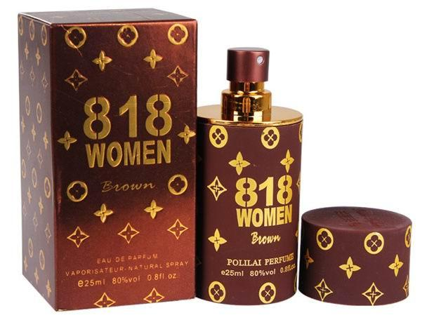 818 WOMEN BROWN PHEROMONE PERFUME 25ML