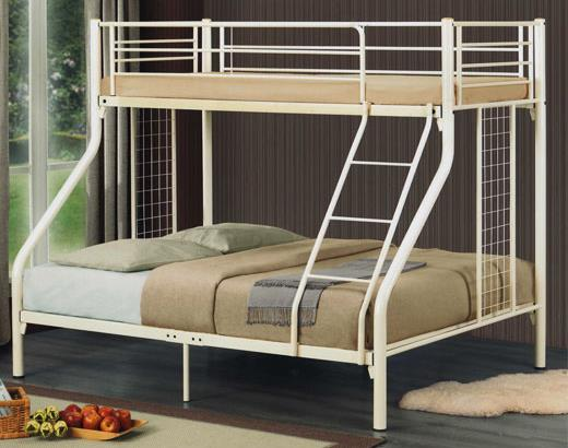 8205 Single Over Queen Size Metal Bunk Bed