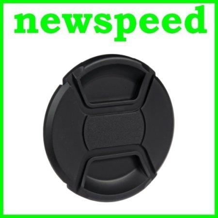 New 82mm Snap On Lens Cap for Digital DSLR Camera with string