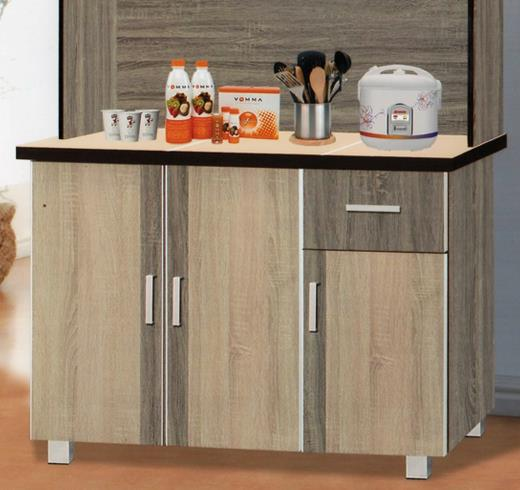 8428 kitchen cabinet with hutch end 3 21 2017 8 15 pm - Make cabinet scratch extra storage space ...