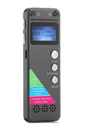 8GB Digital Voice Recorder With MP3 and LCD (WVR-09C)▼