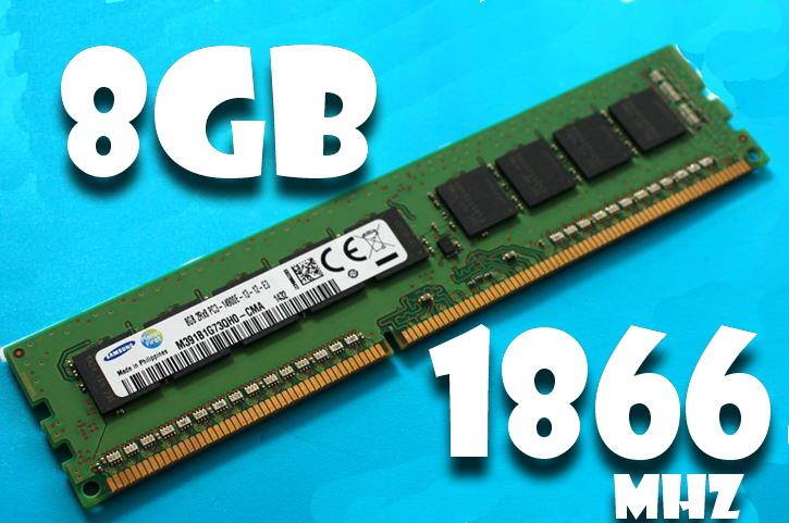 8Gb PC3-14900E 149000 2RX8  DDR3 ECC 1866mhz Server Workstation ram