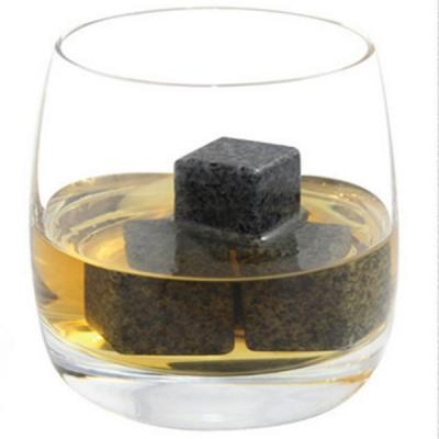 8Pcs Black Whisky Stone Drinks Cooler Cube Ice Stone Wine Cooler Stone