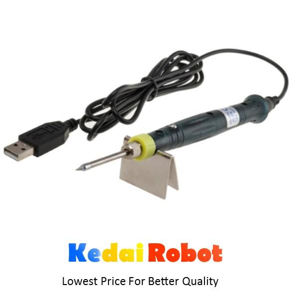 8W 5V DC Portable USB Smart Soldering Iron Gun Pen