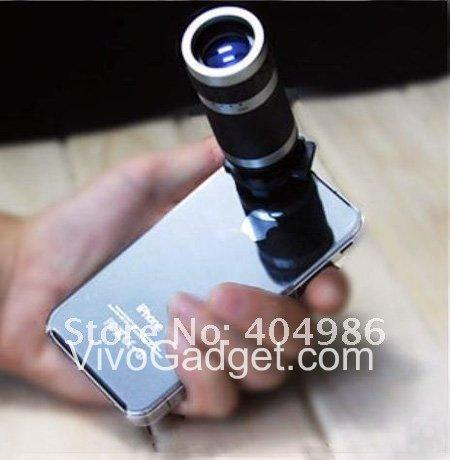 8X Optical Zoom 18mm Lens Mobile Phone Telescope F End 5