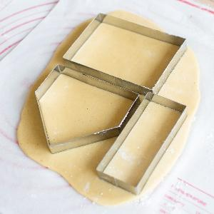 9 in 1 GingerBread House Cookies Cutter Cookies Mould