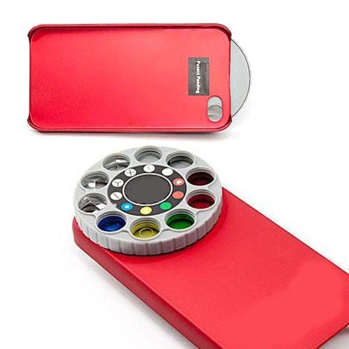 9 in 1 Special Effects LENS FILTER CASE FOR IPHONE 4 / 4S