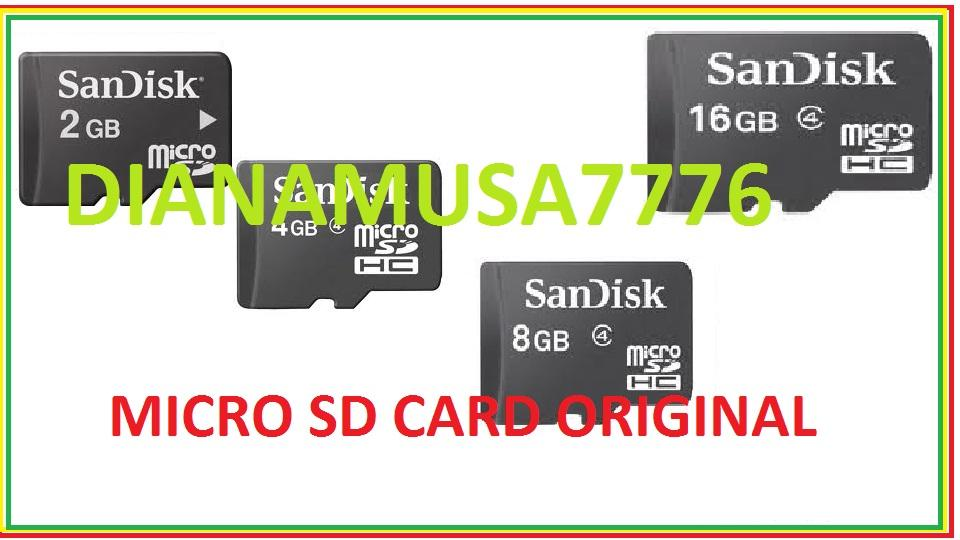 9/12/12*MICRO SD **2GB**SANDISK **BEST PRICE**4,8,16,32GB LOOK MY STORE**