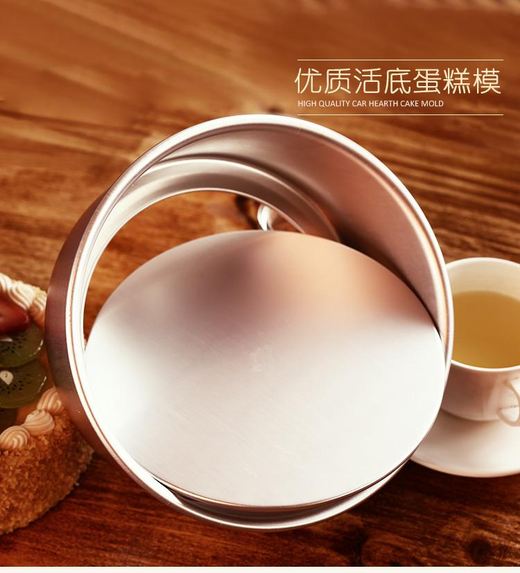 Removable Base For Round Cake Tin