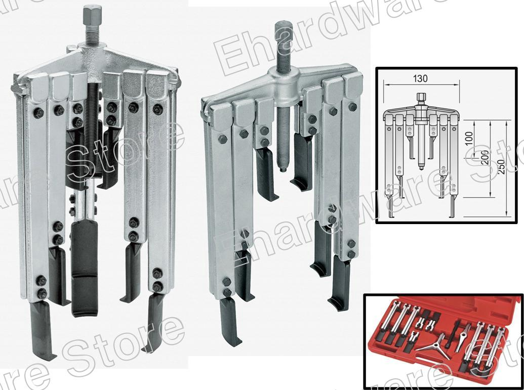 Gear Puller Malaysia : Leg arms thin jaw gear puller set m end