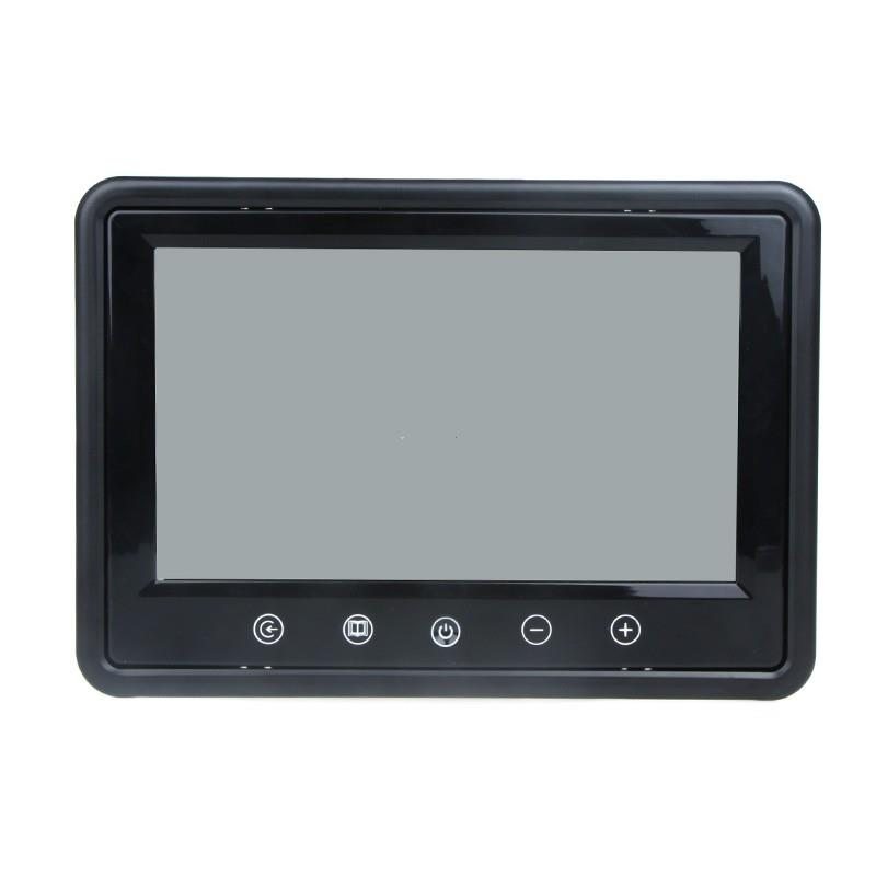 9 TFT LCD Car Rearview Color Monitor for VCD DVD GPS Camera
