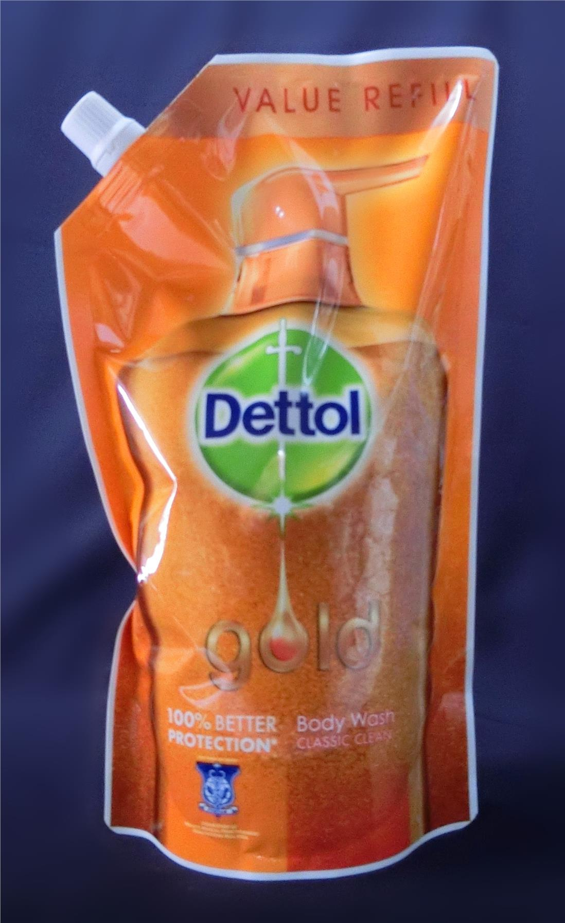 900ml Dettol Gold Body Wash Classic Clean Refill