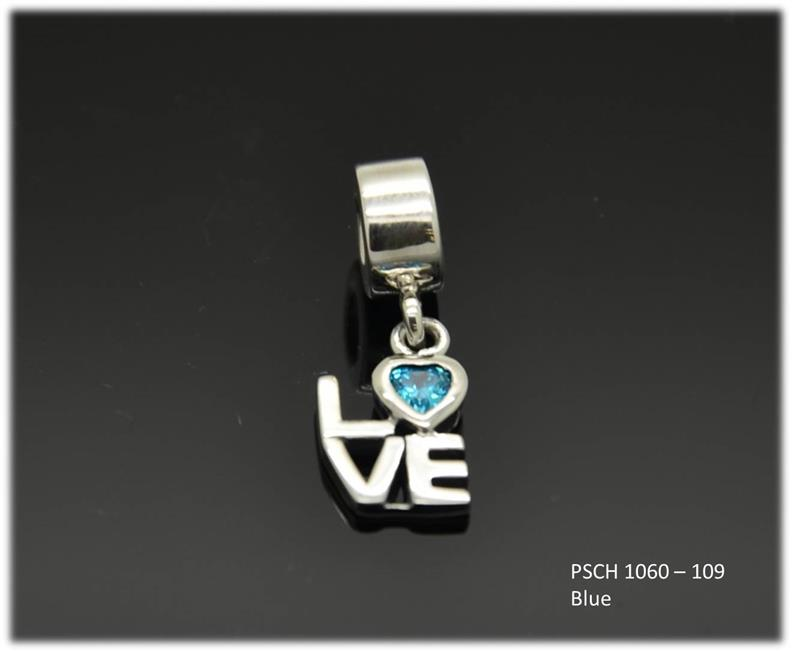 925 silver charm PSCH 1060