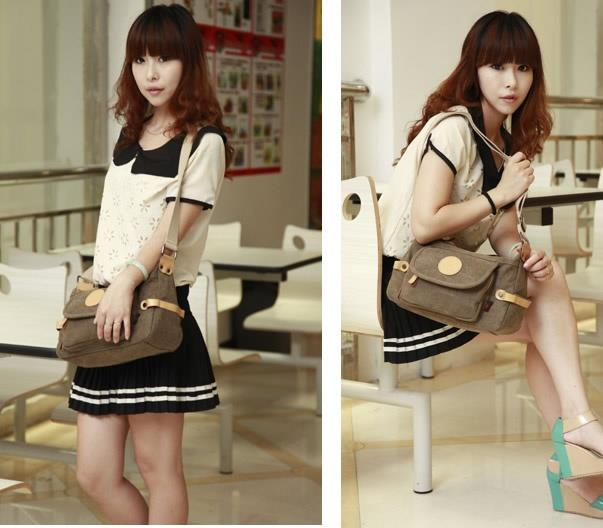 958 - Brown Handbag, Backpack, Laptop Notebook iPhone Tablet Beg