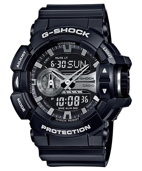 ★ 100% Geniune★ G Shock GA-400GB-1A Big Rotary Switch