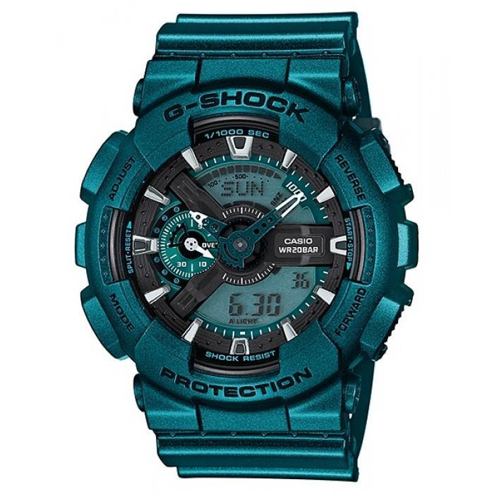 ★ 100% Guniune ★ G-Shock GA-110NM-3A Bold Metallic Green