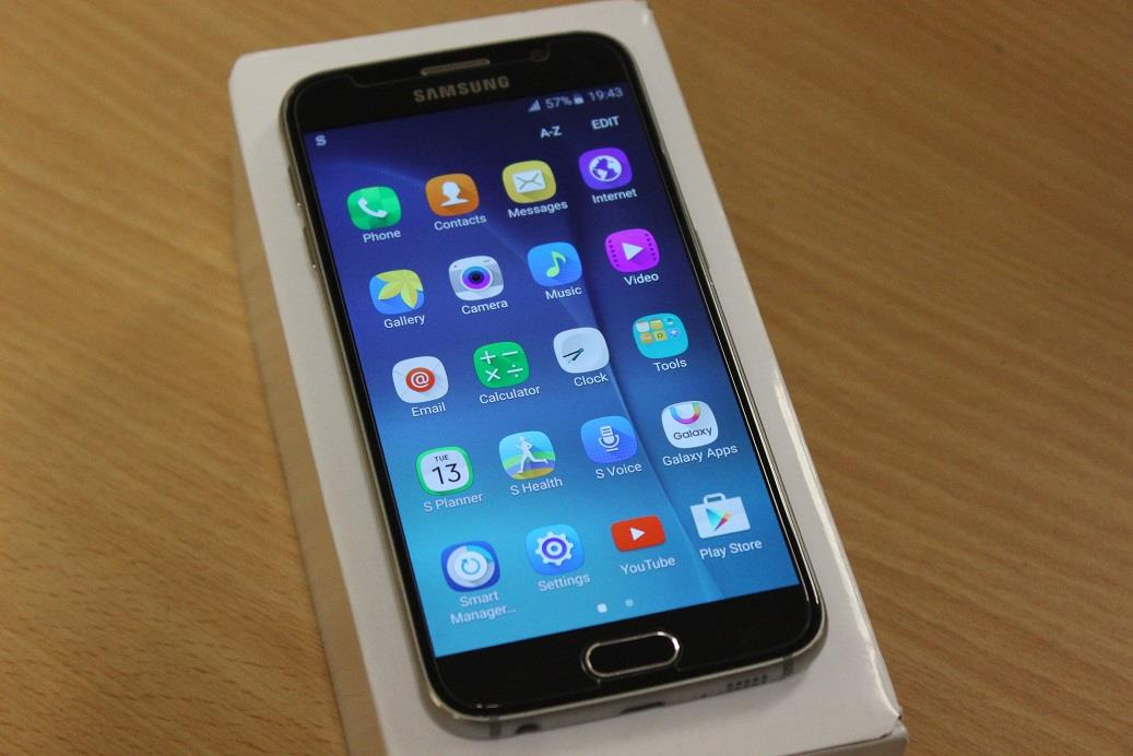 how to set the clock on samsung s6