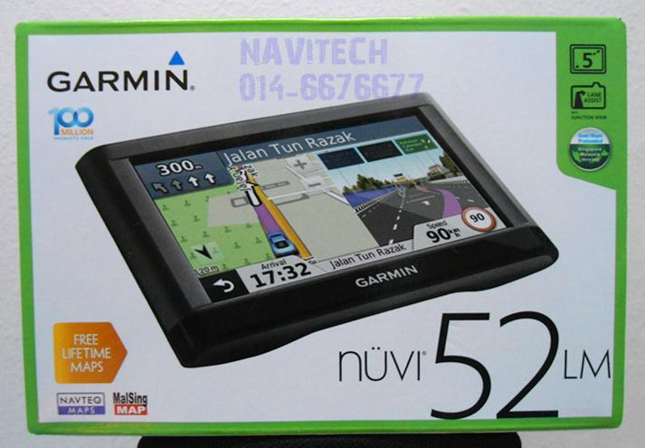 ~★Navitech★ Brand New Genuine Garmin Nuvi 52LM GPS (Replace 50LM)