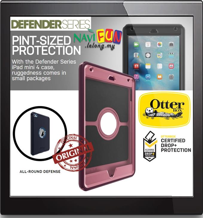 how to open otterbox defender ipad mini 4