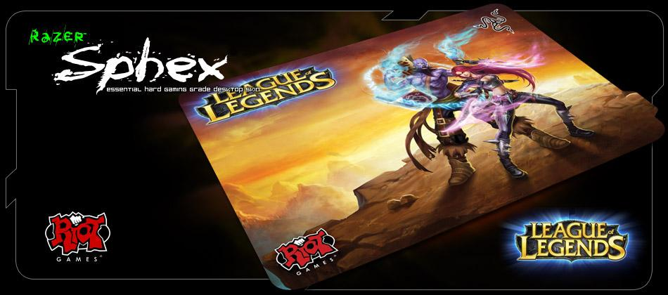 ★Razer Sphex League of Legend Special Edition★