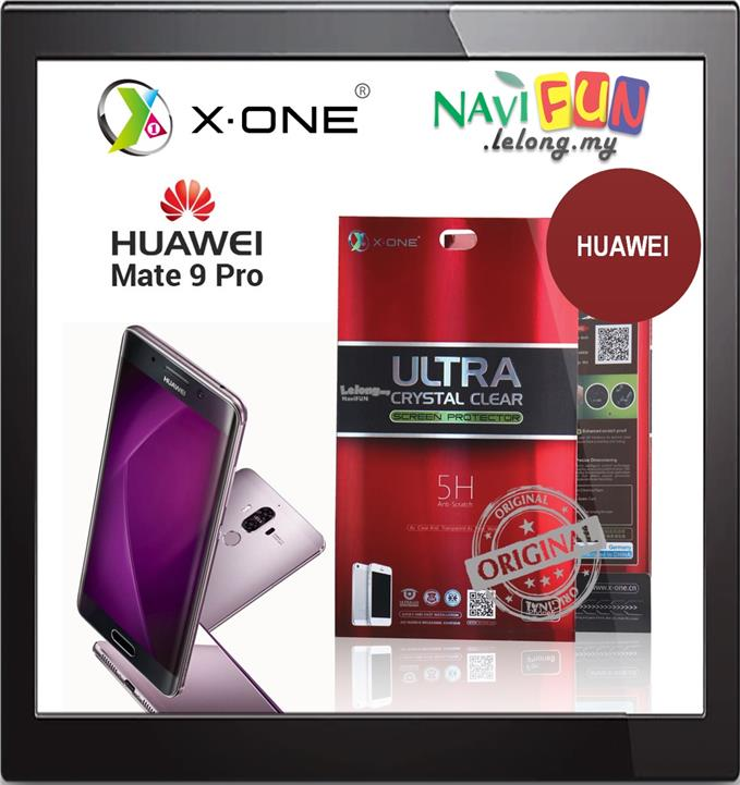 ★ X-One Ultra Crystal Clear Full Screen Protector Mate 9 Pro 5.5