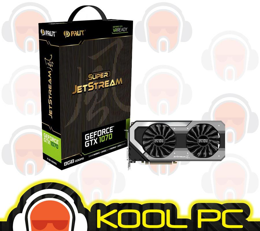 ☆ Palit GTX 1070 Super JetStream 8G/D5