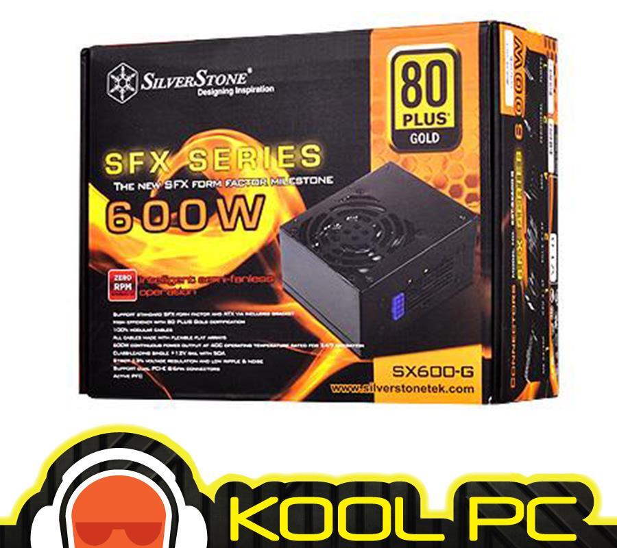 ☆ Silverstone SFX Series 600W Power Supply SX600-G