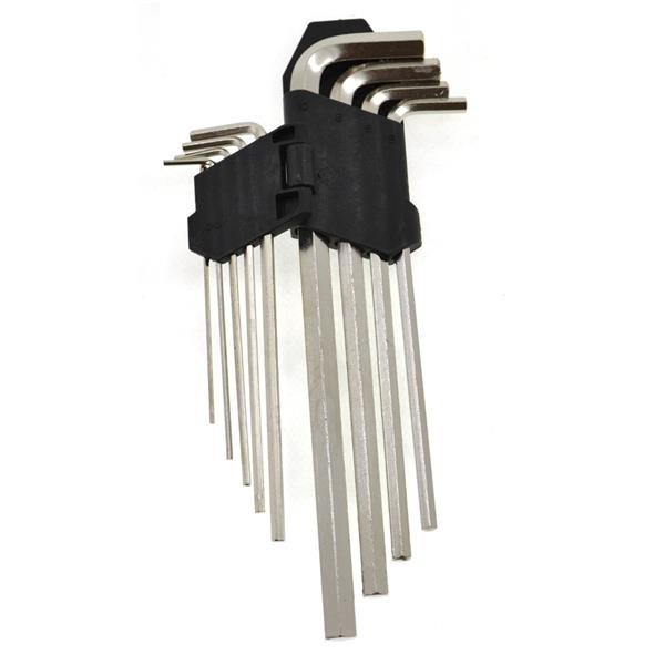 9PCS HEX KEY(LONG)FT TOOLS