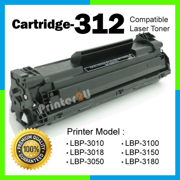 A1 Cartridge 312/CRG312@Compatible Canon-LBP 3010 3018 3050 3100 3150