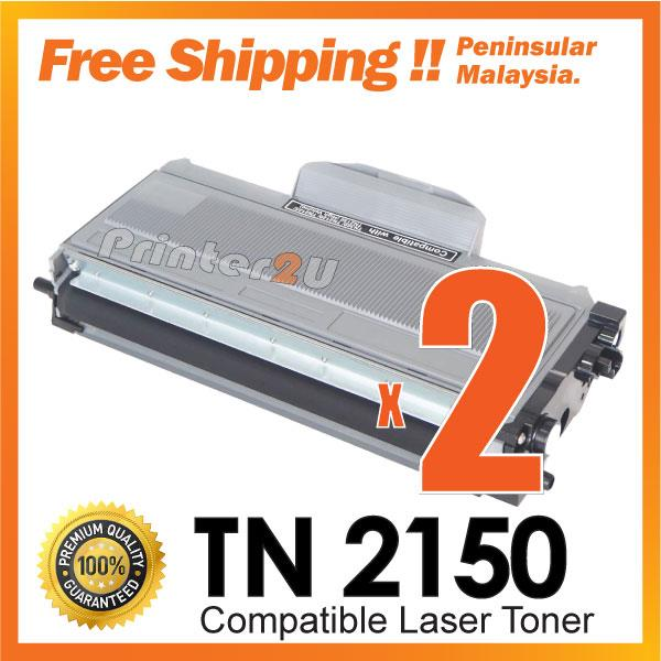 A1 TN2150 TN Laser Toner@Brother DCP 7030/7040/7045N/HL 2140/2150/2170