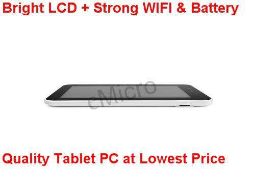 A13 Android Tablet PC - Strong WIFI + Powerful Battery + Bright LCD vs