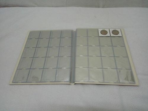 A21 TACC Card Type Coin Album 200 pockets (10 Pages)