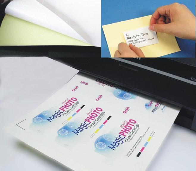 A4 Quality Glossy Sticker - 100 sheets
